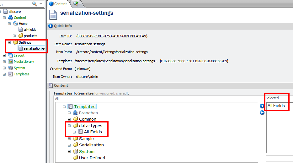 serialization-settings