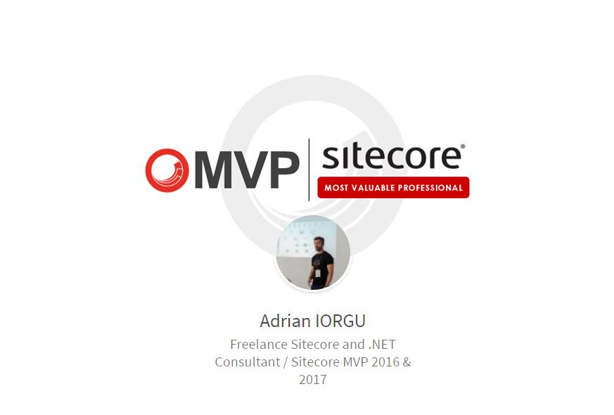 Sitecore MVP Adrian Iorgu